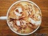 pysznej halloweenowej kawusi:)