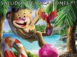 Saludos de vacaciones !!!
