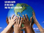 Save our earth...