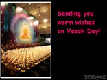 Sending you warm wishes on Vesak Day!