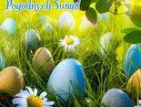 Słonecznych, wiosennych Świąt, jajeczka smacznego,mokrego dyngusa i wiele dobrego!