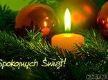 Spokojnych Świąt Bożego Narodzenia!