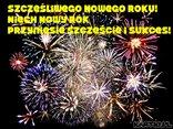 Szczęśliwego Nowego Roku! Niech Nowy Rok przyniesie szczęście i sukces!
