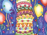 Urodzinowy torcik i najlepsze życzenia dla Ciebie!