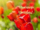 wiosennego weekendu-Słoneczka na niebie i moc radości dla Ciebie!