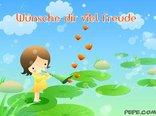 Wünsche dir viel Freude