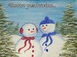 Zimowe pozdrowionka
