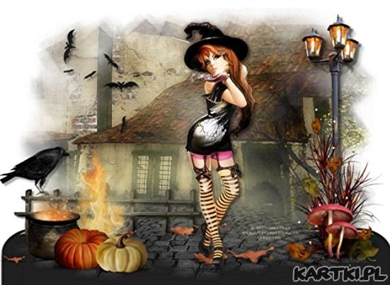 zapraszam na halloweenową kolacyjkę