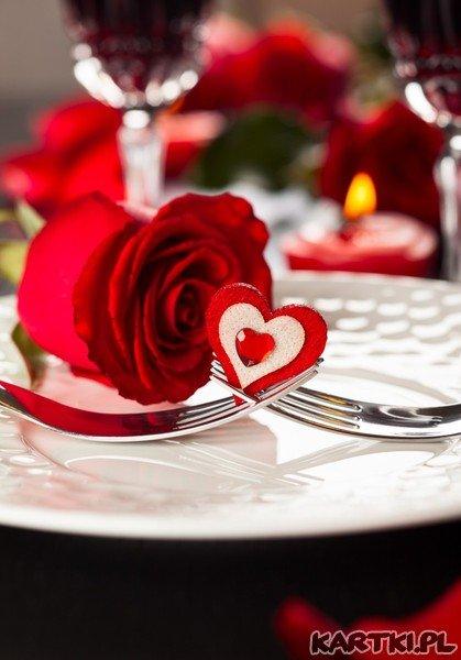 zapraszam na romantyczną kolację