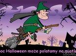 W noc Halloween może polatamy na miotle?