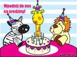 Wpadnij do nas  na urodziny!