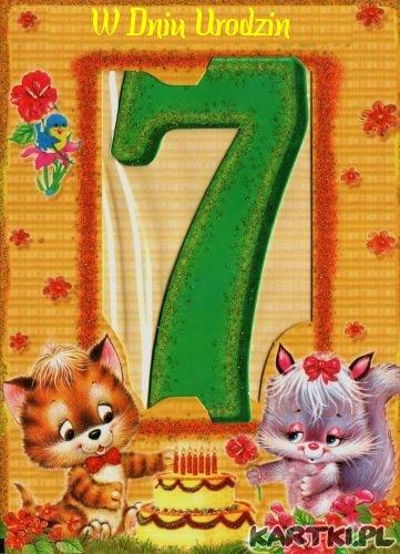 7 Urodziny
