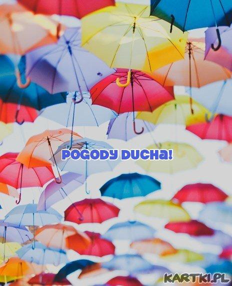 aby ten dzień deszczowy był w Twoim sercu pogodny i kolorowy...