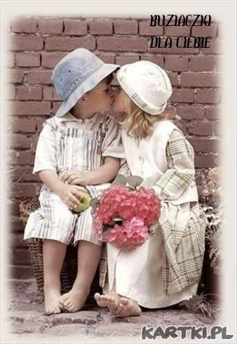 Buziak na dzien dobry