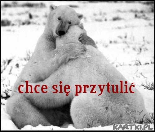 chcę się przytulić