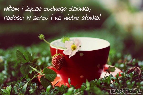 cudownego wakacyjnego dnia Ci życzę...