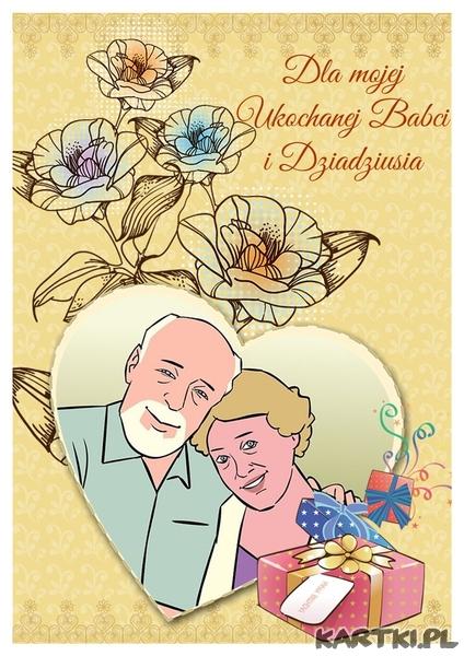 Dla ukochanej Babci i Dziadziusia