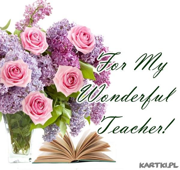 For My Wonderful Teacher!