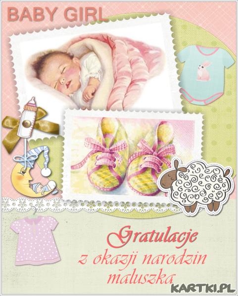 Gratulacje z okazji narodzin maluszka