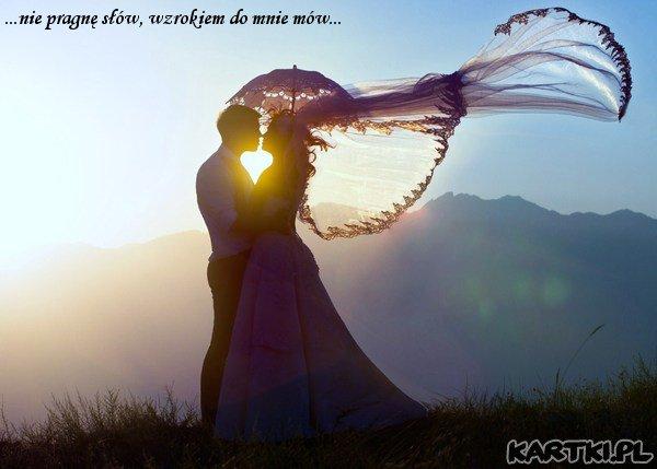 ...i jeśli naprawde mnie kochasz, niebieską kredką namalujesz mi czerwone serce...