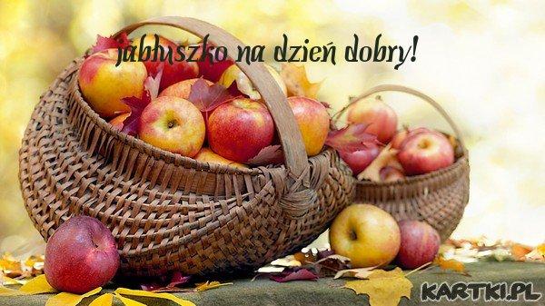 jabłuszko na dzień dobry!