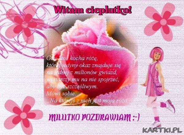 Kochaj mnie jak różę !