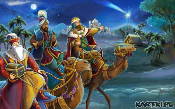 Mędrcy świata, monarchowie, gdzie śpiesznie dążycie? Powiedzcież nam, Trzej Królowie, chcecie widzieć Dziecię?