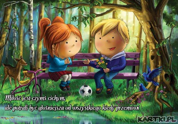 Miłość jest czymś cichym