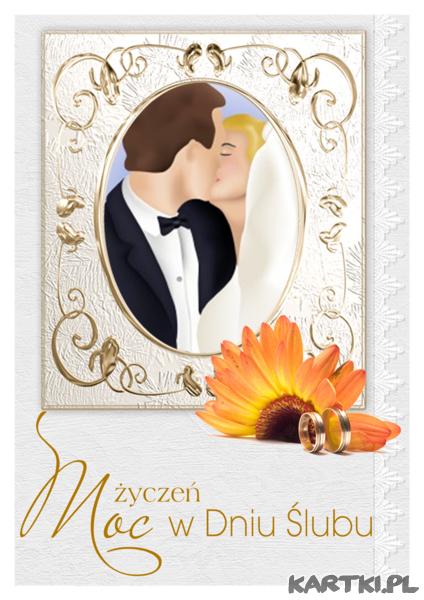 Moc życzeń w Dniu Ślubu