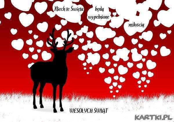Niech te Święta będą wypełnione miłością