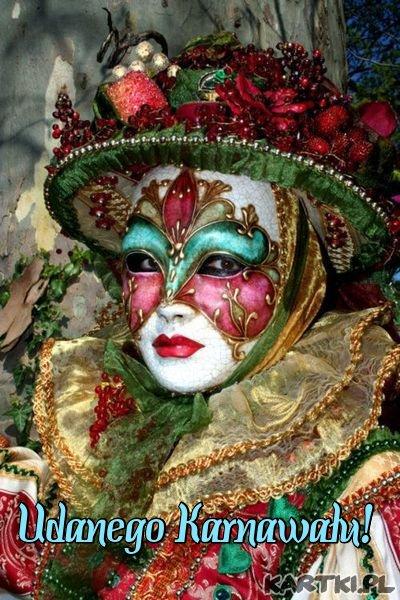 Pozdrawiam i życzę udanego Karnawału!