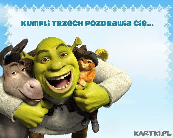 Pozdrowienia od Shreka