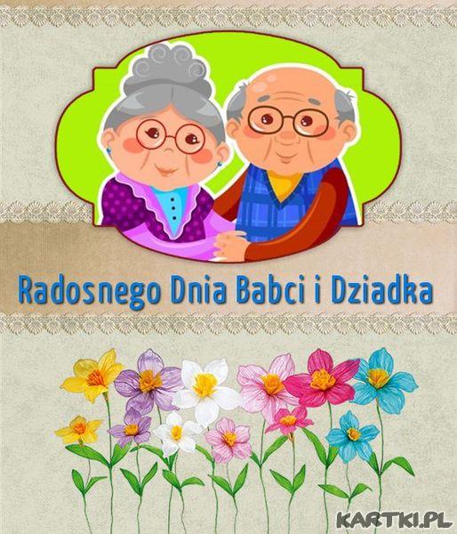 Radosnego Dnia Babci i Dziadka