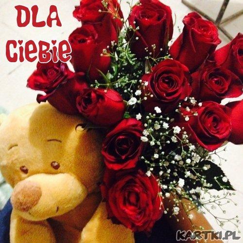 Różyczki dla mojej cudownej Walentynki!