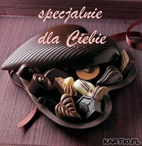 serducho pełne słodyczy dla Ciebie