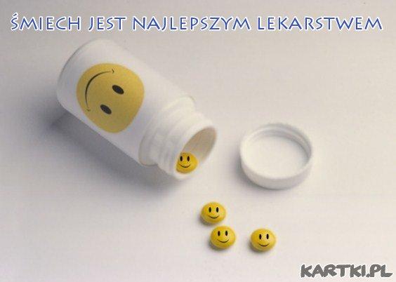 śmiech jest najlepszym lekarstwem