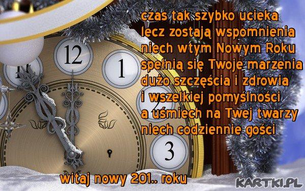 Szczęśliwego Nowego Roku...