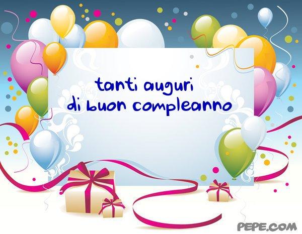 Molto tanti auguri - Cartolina virtuale PEPE.com ME37