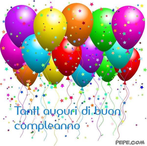 Conosciuto Tanti auguri di buon compleanno - Cartolina virtuale PEPE.com WA06