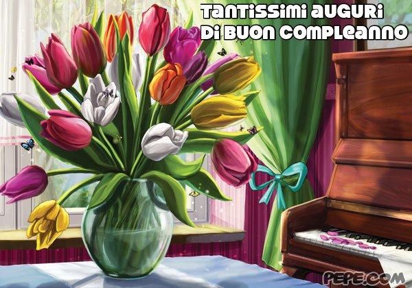 Favoloso tantissimi auguri di buon compleanno Cartolina stampata BL04