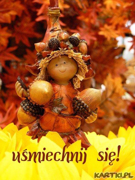 Uśmiechniętego dnia życzę Tobie...