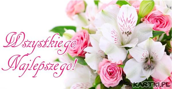W dniu święta Twojego najserdeczniejsze życzenia Wszystkiego Najlepszego!