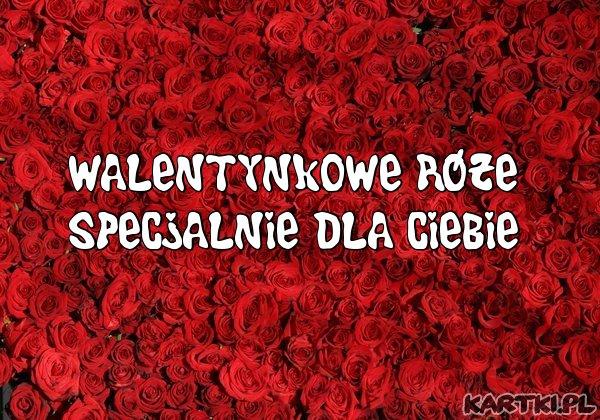 Walentynkowe Róże dla Ciebie!