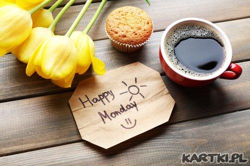 Witam w poniedziałek i życzę udanego startu  w nowy tydzień!