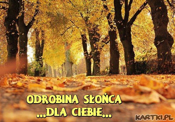 Właśnie takiej Jesieni Nam trzeba ;-)