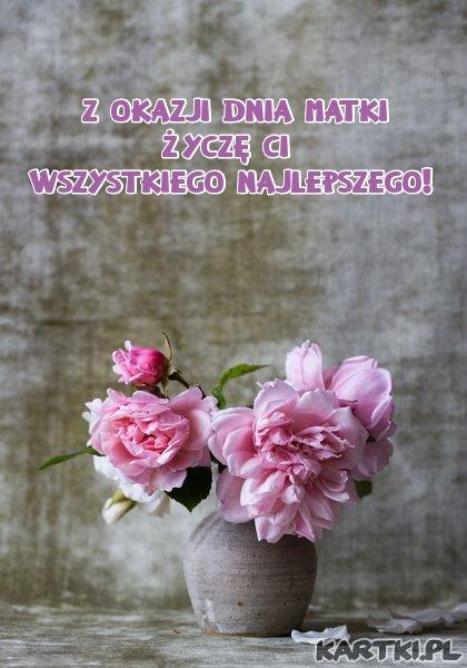 Z okazji Dnia Matki