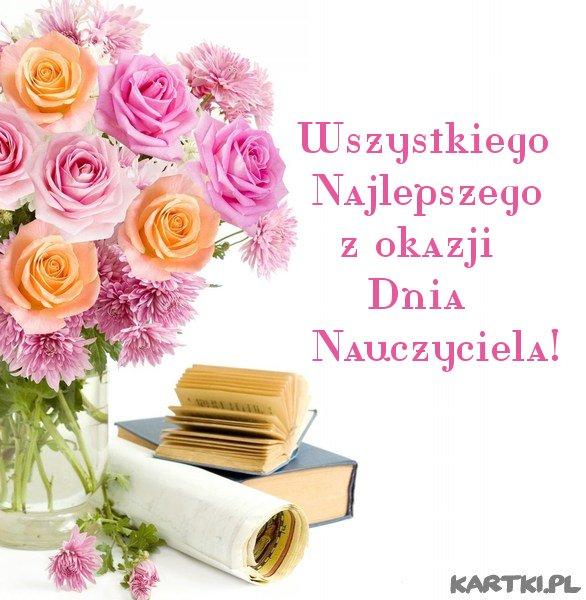 Z okazji Dnia Nauczyciela Wszystkiego Najlepszego!