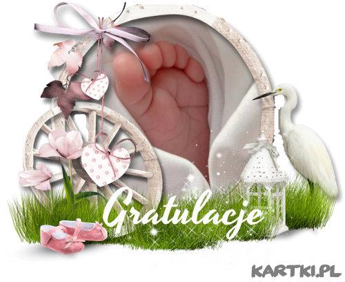 Z okazji narodzin Waszej córeczki...