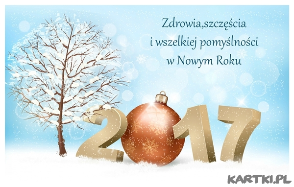 Zdrowia,szczęścia i wszelkiej pomyślności w Nowym Roku