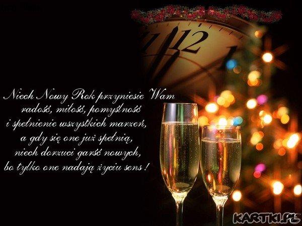 Znalezione obrazy dla zapytania życzenia noworoczne na facebooka